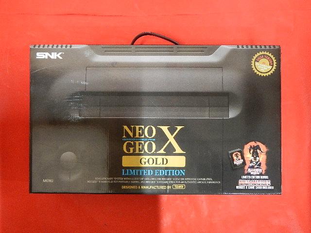 ネオジオ/本体/ネオジオX GOLD Limited Edition