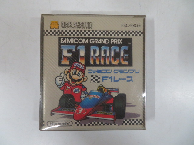 ファミコングランプリ F1レース (ディスクシステム)FSC-FRGE