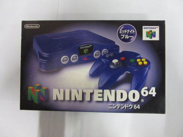 NINTENDO64本体/ミッドナイトブルー