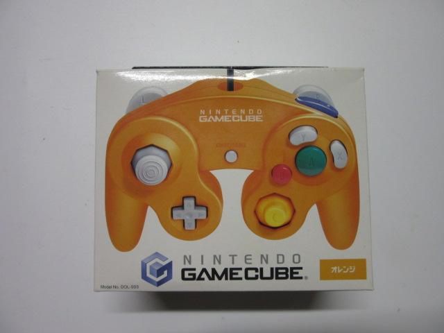 ゲームキューブコントローラ(オレンジ)