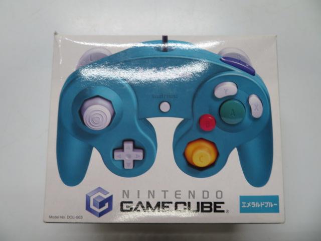ゲームキューブコントローラー(エメラルドブルー)