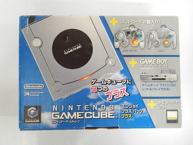 ゲームキューブ/GAMECUBEエンジョイプラスパックプラス+ シルバー