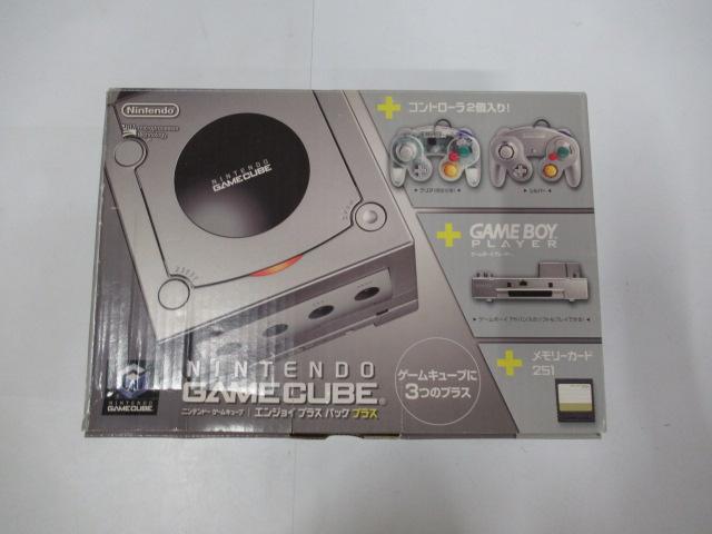 ゲームキューブ/ゲームキューブエンジョイプラスパックプラス シルバー