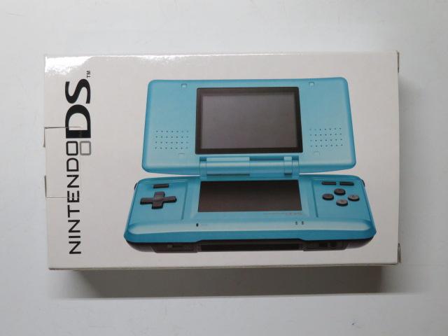 ニンテンドーDS (ターコイズブルー) NTR-001