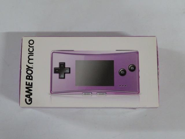 ゲームボーイミクロ(パープル) OXY-001