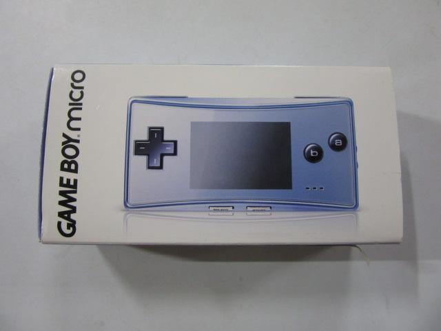 ゲームボーイミクロ(ブルー) OXY-001