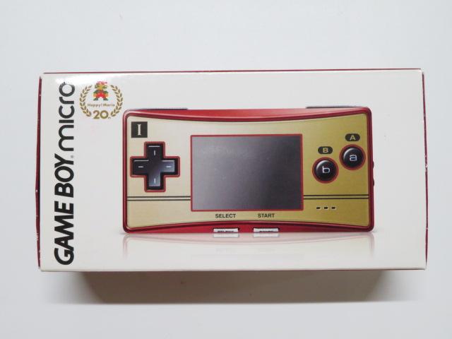 ゲームボーイミクロ ハッピーマリオ20th ファミコンバージョン OXY-001