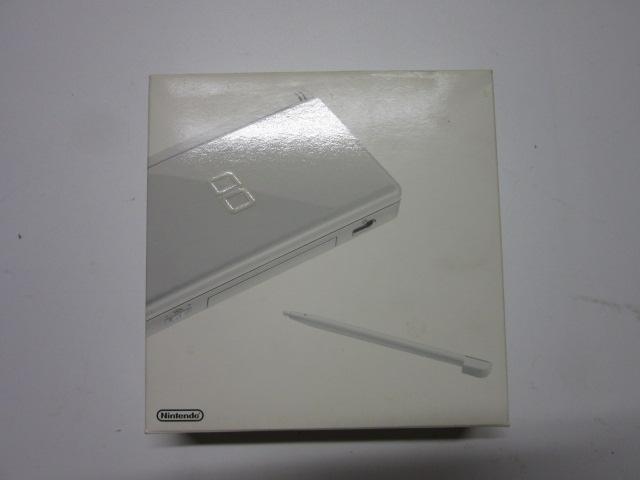 ニンテンドーDSLite(クリスタルホワイト) USG-001