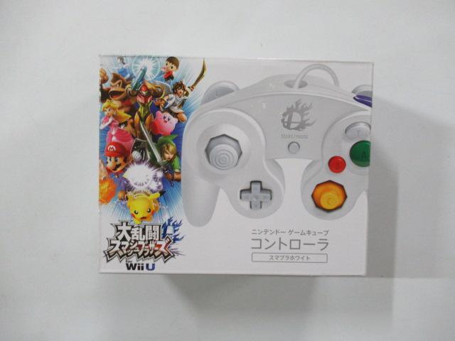 ニンテンドーゲームキューブコントローラ スマブラホワイト(DOL-003)