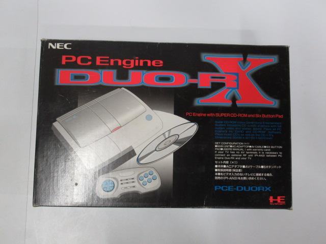 PCエンジン本体/PCエンジンDUR-RX