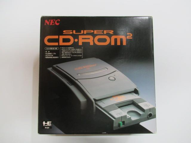 PCエンジン本体/スーパーCD-ROM2