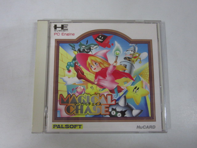 PCエンジンソフト/マジカルチェイス(初版)