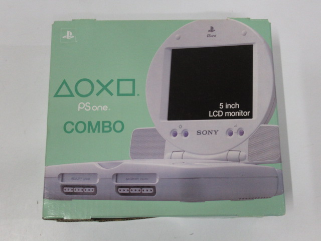 PlayStation(Psone) and LCD Monitor COMBO