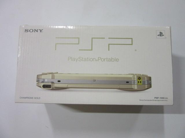 プレイステーションポータブル(PSP-1000)シャンパンゴールド