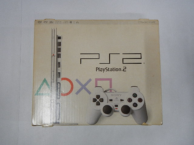 PlayStation2 SCPH-79000(Ceramic White)