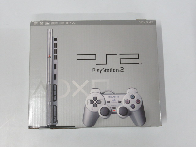 PlayStation2 SCPH-79000(Satin Silver)