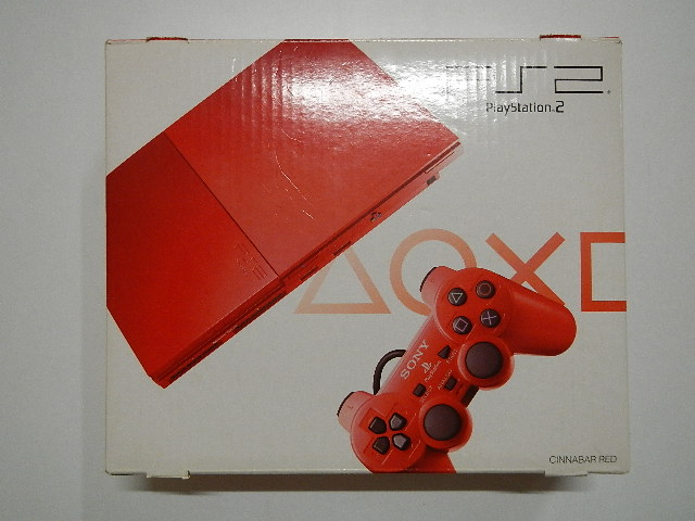 PlayStation2 SCPH-90000CR(シナバーレッド)