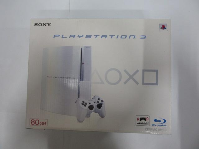 PlayStation3 80GB セラミックホワイト(旧型PS3本体・CECHL00 CW)