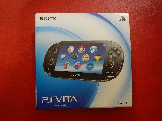 PlayStation Vita本体 Wi-Fiモデル クリスタル・ブラック(PCH-1000)