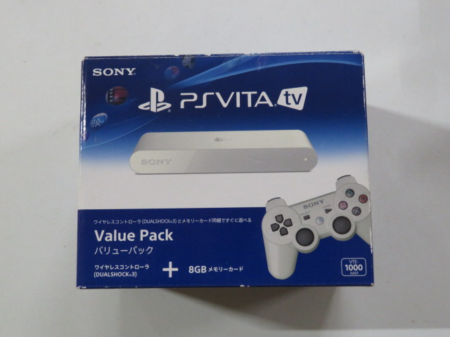 PlayStation Vita TV バリューパック(VTE-1000 AA01)
