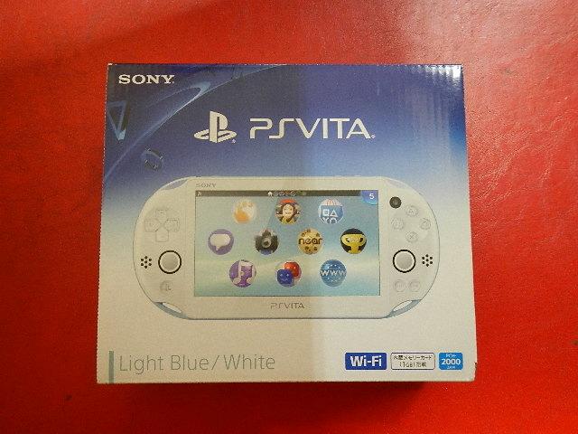 PlayStation Vita(PCH-2000シリーズ)Wi-Fiモデル ライトブルー・ホワイト ZA14