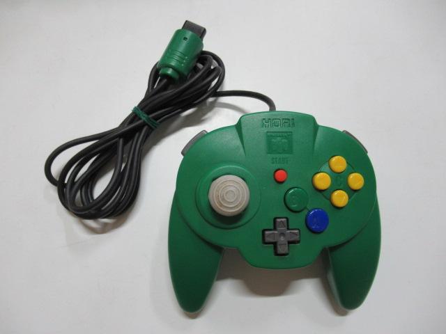 ホリパッドミニ64(グリーン)