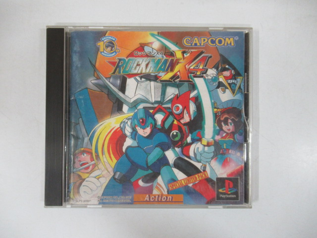 PlayStationソフト/ロックマンX4(限定版)
