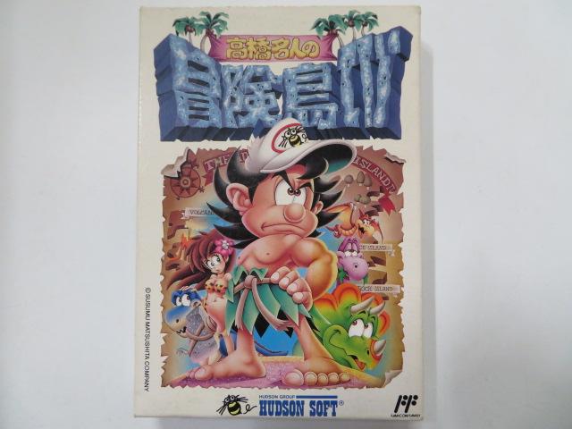 ファミコンソフト/高橋名人の冒険島4