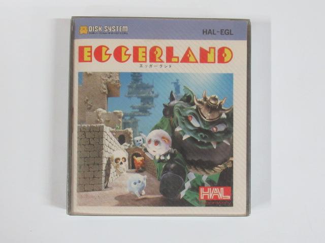 エッガーランド(ディスクシステム)HAL-EGL