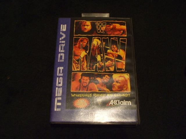 メガドライブソフト/WWF-RAW